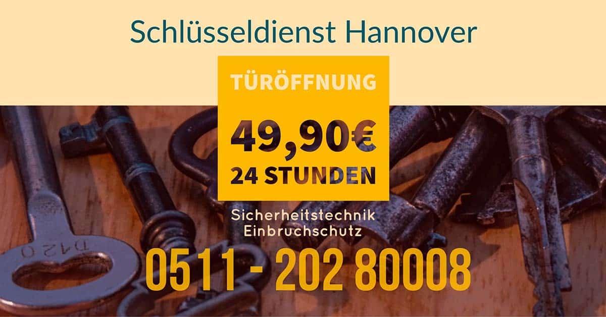 Schluesseldienst aus Hannover Top Preise