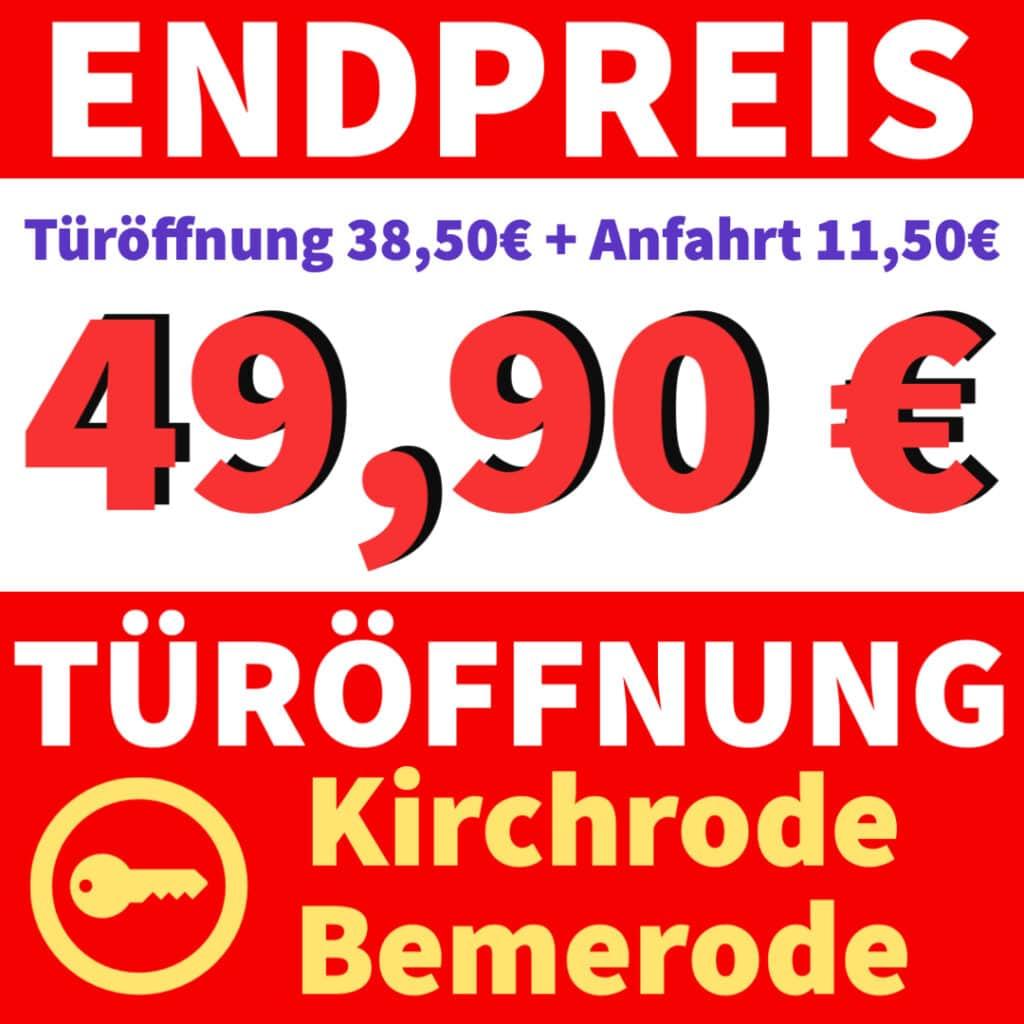 Schlüsseldienst Bemerode Kirchrode Banner