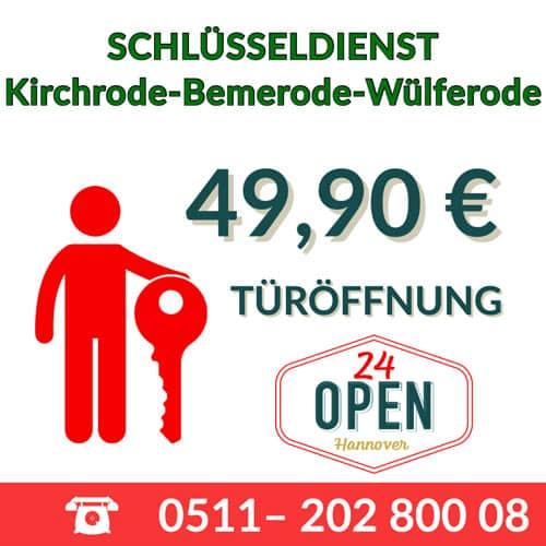 seriöser Schlüsseldienst Hannover-Kirchrode-Bemerode-Wülferode