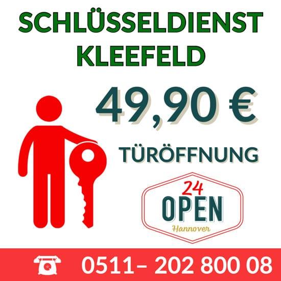 Schlüsseldienst Türöffnung Hannover Kleefeld