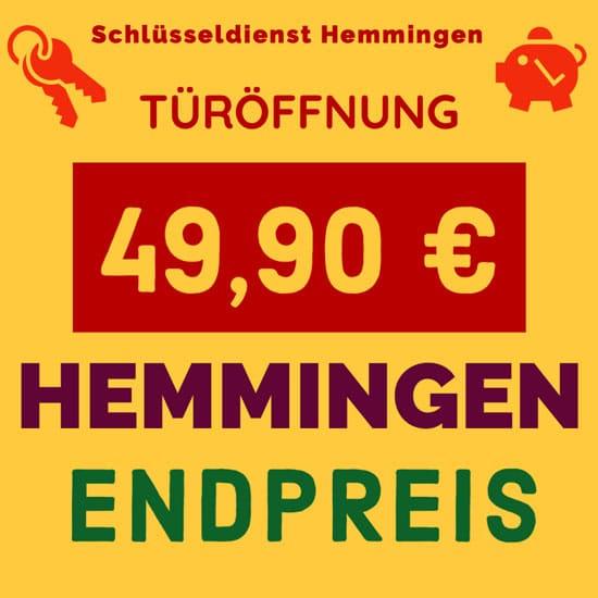 Schlüsseldienst Hemmingen Westerfeld Preise