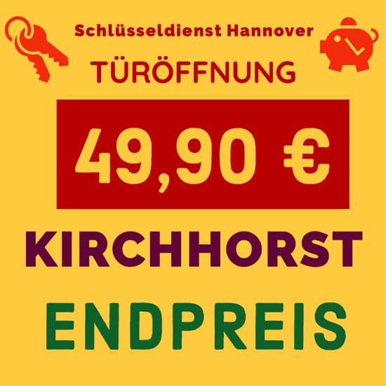 Schlüsseldienst Kirchhorst Preise