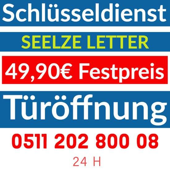 Schlüsseldienst Seelze Letter Banner Preise