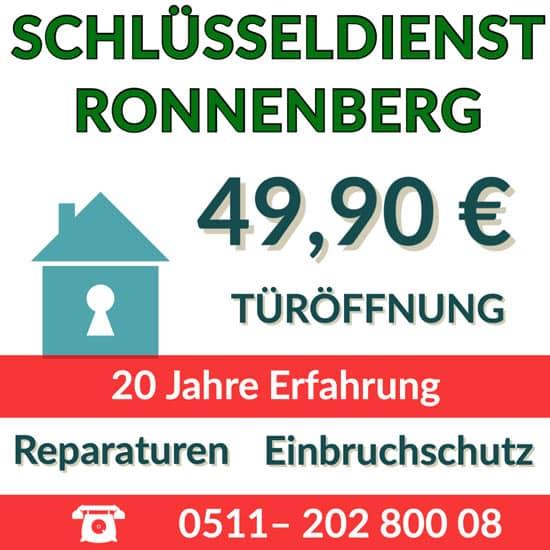 Schlüsselnotdienst Ronnenberg Preise Türöffnung
