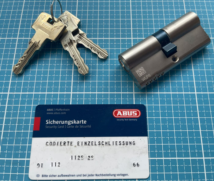 Sicherheitsschloss Hannover ABUS