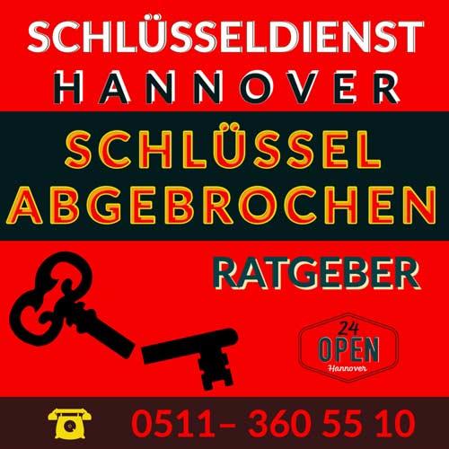 Schlüssel abgebrochen Hannover